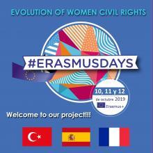 Esta semana elegimos a los alumnos que viajarán a Francia y Turquía!  Además,  el viernes publicaremos en nuestras redes sociales nuestro evento para celebrar el día ERASMUSDAYS!!  Síguenos!