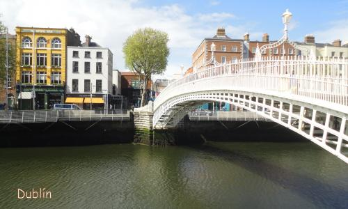Dublin - Ha'Penny Bridge