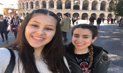 Alumnas Erasmus APSD 2018 en Verona