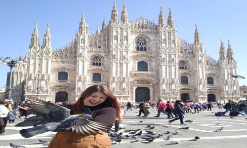 Alumna APSD en Milán